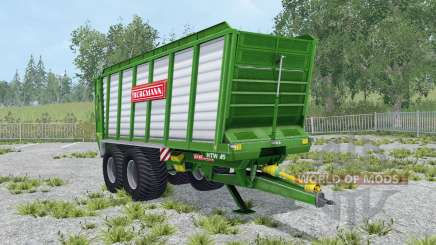 Bergmann HTW 45 north texas green for Farming Simulator 2015