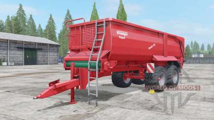 Krampe Bandit 750 low body for Farming Simulator 2017