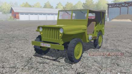 Willys MB 1942 for Farming Simulator 2013