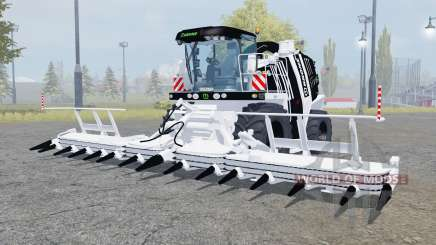 Krone BiG X 1100 black and white for Farming Simulator 2013
