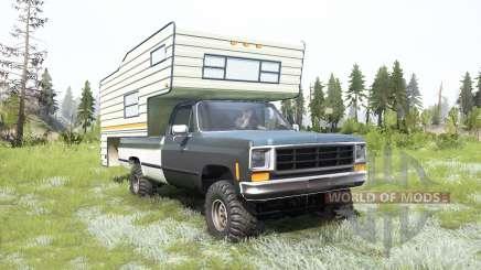 Chevrolet K10 Camper 1987 for MudRunner