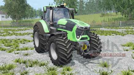 Deutz-Fahr 9340 TTV Agrotron with weight for Farming Simulator 2015