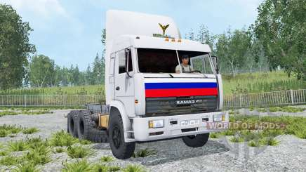 KamAZ-54115 6x4 for Farming Simulator 2015
