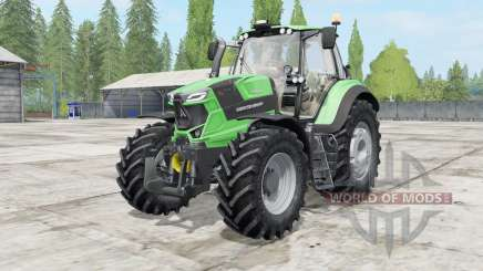 Deutz-Fahr 6 TTV Agrotron power selection for Farming Simulator 2017
