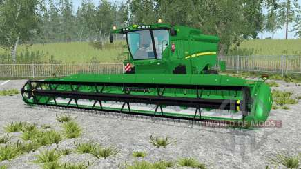 John Deere S690i realistic sound engine for Farming Simulator 2015