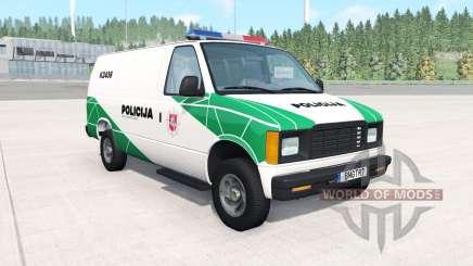 Gavril H-Series Lithuanian Police v1.2 for BeamNG Drive