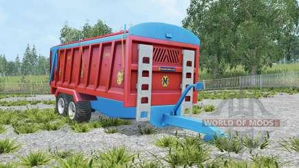 Marshall QM-16 amaranth red for Farming Simulator 2015