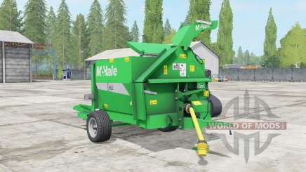 McHale C460 lime green for Farming Simulator 2017