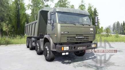 KamAZ-6540 for MudRunner