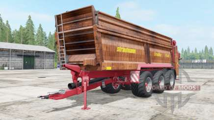 Strautmann PS 3401 with halved consumption for Farming Simulator 2017
