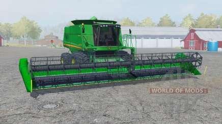 John Deere 9770 STS straw chopper for Farming Simulator 2013
