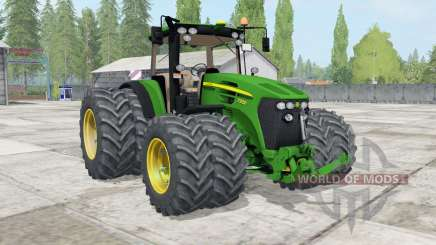 John Deere 7930 ƫwin wheels for Farming Simulator 2017