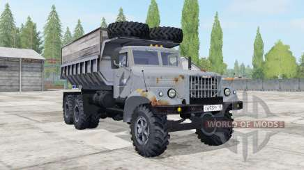 KrAZ-256Б1 for Farming Simulator 2017