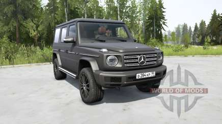 Mercedes-Benz G 500 (Br.463) 2018 for MudRunner