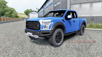 Ford F-150 Raptor 2017 for Euro Truck Simulator 2