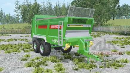 Bergmann TSW 4190 S compost for Farming Simulator 2015