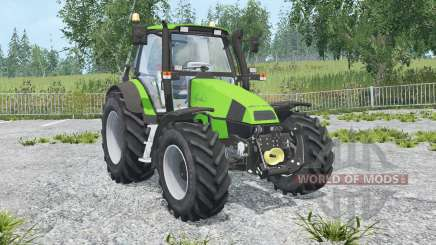 Deutz-Fahr Agrotron 120 MK3 front loadeᶉ for Farming Simulator 2015