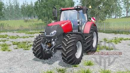Case IH Optum 300 CVX warning signs for Farming Simulator 2015