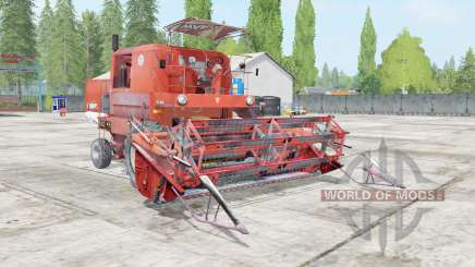 Bizon Super Z056 outrageous orange for Farming Simulator 2017