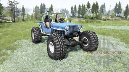 Willys CJ-2A TTC for MudRunner