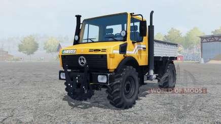 Mercedes-Benz Unimog U1450 (Br.427) tipper for Farming Simulator 2013