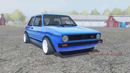 Volkswagen Golf GTI 1976 for Farming Simulator 2013