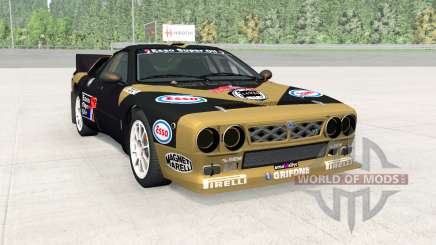 Lancia Rally Group B (SE037) for BeamNG Drive