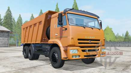KamAZ-6520 2009 for Farming Simulator 2017