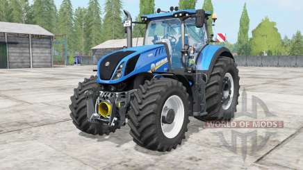 New Holland T7 warning signal for Farming Simulator 2017