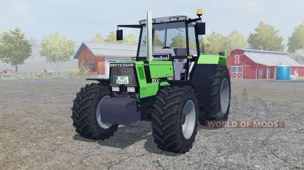 Deutz-Fahr AgroStar 6.31 added wheels for Farming Simulator 2013