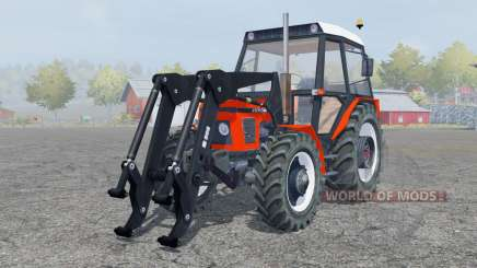 Zetor 7745 fronƫ loader for Farming Simulator 2013
