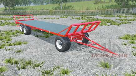 Fliegl DPW 180 longer drawbar for Farming Simulator 2015