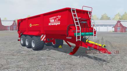 Krampe Bandit 980 fertilizer for Farming Simulator 2013