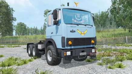 MAZ-6422 light cornflower blue color for Farming Simulator 2015