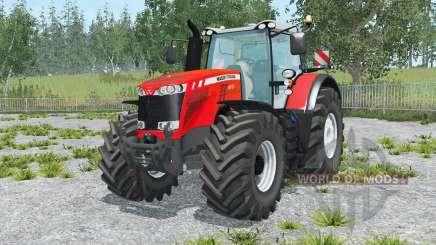 Massey Ferguson 8737 vivid red for Farming Simulator 2015