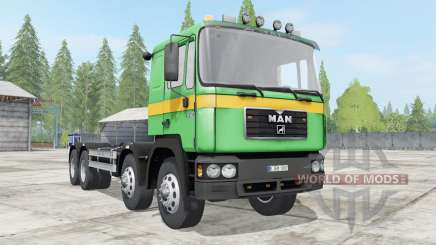 MAN 41.403 (F2000) hooklift for Farming Simulator 2017
