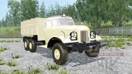 ZIL-157КД with trailer GKB-817 for Farming Simulator 2015