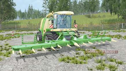 Krone BiG X 1100 grain hopper for Farming Simulator 2015