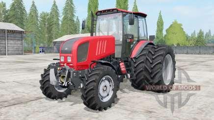 MTZ-Belarus 1822.3 console of the truck for Farming Simulator 2017