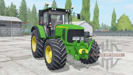 John Deere 6230 wheels configuration for Farming Simulator 2017