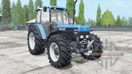 New Holland 8340 super power for Farming Simulator 2017