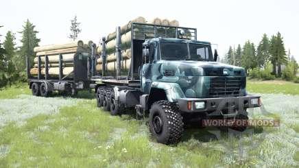 KrAZ-7140Н6 8x8 for MudRunner