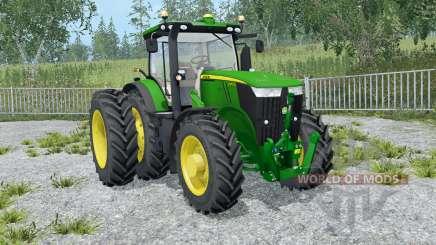 John Deere 7310R front loadeᶉ for Farming Simulator 2015