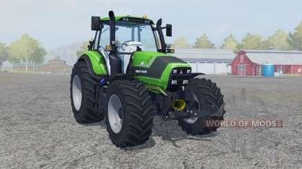 Deutz-Fahr 6190 TTV Agrotron new Reifen〡Felgen for Farming Simulator 2013