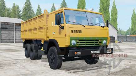 KamAZ 55102 with a trailer for Farming Simulator 2017