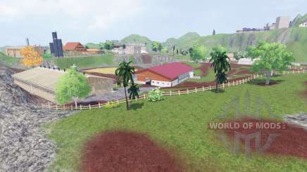 Madina Island for Farming Simulator 2015