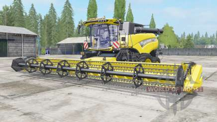 New Holland CR10.90 safety yellow for Farming Simulator 2017