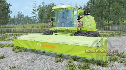 Krone BiG X 1100 highly modified for Farming Simulator 2015