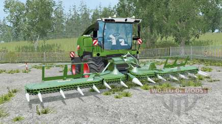 Fendt Katana 65 real exhaust for Farming Simulator 2015