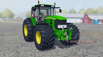 John Deere 7430 Premium manual ignition for Farming Simulator 2013